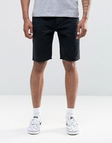 Bellfield Denim Shorts in Black