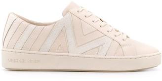 Michael Kors Brooke contrast panel sneakers