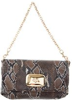 Love Moschino Embossed Leather Bag