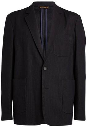 Billy Reid Striped Archie Tailored Jacket