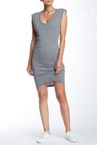 Pam & Gela Scoop Neck Twisted Knit Dress
