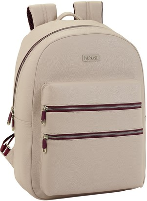 """Moos """"Capsula"""" Beige Official Teenager's Backpack for Laptops up to 15.6''"""