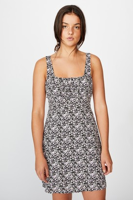 Factorie Tie Back Fit And Flare Dress
