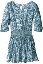 Splendid Littles Ditsy Dot 3/4 Sleeve Dress (Big Kids)