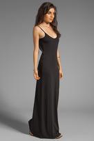 Bobi EXCLUSIVE Jersey Low Back Maxi Dress