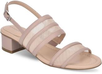 Bandolino Adjustable Mesh Strap Dress Heels - Rochel