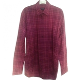 Burberry Purple Cotton Shirt