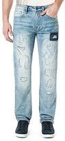 Buffalo David Bitton Evan Distressed Light Wash Jeans