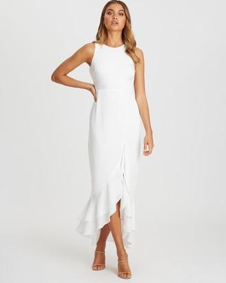Chancery Tracy Frill Dress
