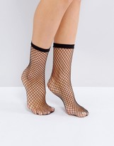Monki Fishnet Socks