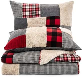 Brunelli Buck Three-Piece Patchwork Quilt Set