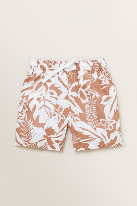 Seed Heritage Palm Print Short