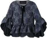 Christian Pellizzari ruffle sleeve blouse
