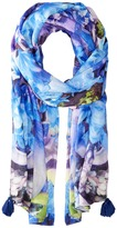 Echo Tropical Floral Wrap Scarf Scarves