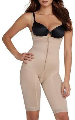 Leonisa Open-Bust Extra-Firm Control Bodysuit