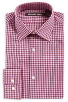 Michael Kors Boy's Checkered Cotton Collared Shirt
