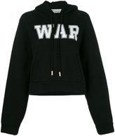 Off-White 'War' hoodie - women - Cotton - S