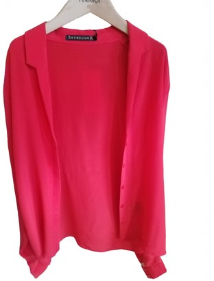 Berenice Red Silk Top for Women