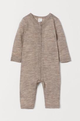 H&M Wool Jumpsuit