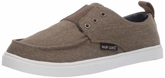 Muk Luks Men's Billie Shoes Khaki