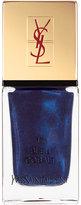 Yves Saint Laurent Beaute La Laque No17 Bleu Cobalt