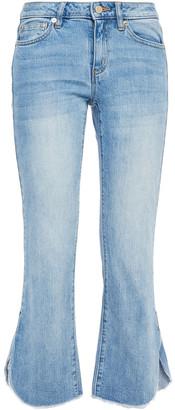 MICHAEL Michael Kors Faded Mid-rise Kick-flare Jeans