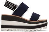 Stella McCartney Navy Platform Sporty Sandals