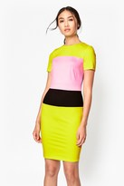 French Connection Lula Colour Block Dress