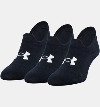 Under Armour Unisex UA Ultra Lo 3-Pack Socks
