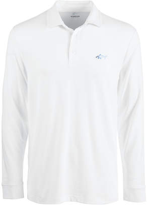 Greg Norman Attack Life by Men Long-Sleeve Polo