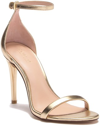 Rachel Zoe Ema Metallic Leather Stiletto Sandal