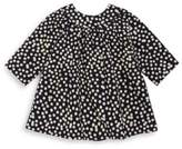 Bonpoint Baby's & Toddler's Polka Dot Long-Sleeve Cotton Dress