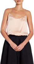KENDALL + KYLIE Kendall & Kylie Silk Bubble Hem Cropped Cami