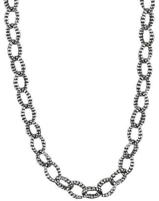 Lagos Links Silver Necklace