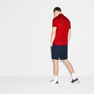 Lacoste Men's SPORT Breathable Anti-UV Pique Polo