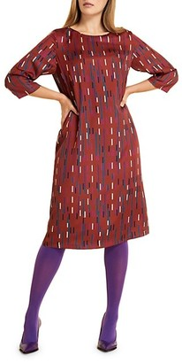 Marina Rinaldi, Plus Size Danzante Twill Shift Dress
