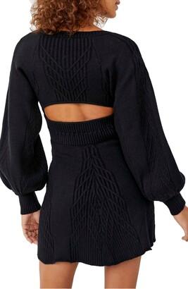 Free People Emmaline Long Sleeve Sweater Dress
