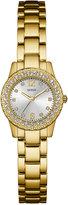 GUESS Women's Dixie Gold-Tone Stainless Steel Bracelet Watch 30mm U0889L2