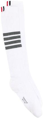 Thom Browne 4-Bar cotton socks