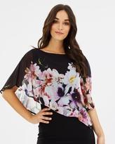 Wallis Midnight Garden Overlay Dress