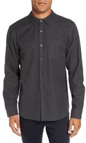 Michael Stars Men's Slim Fit Flannel Sport Shirt