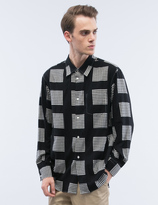 soe Printed Block Check Shirt