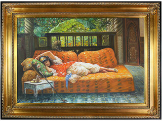 Frederick Overstock Art La Pastiche By Overstockart The Siesta By Arthur Bridgman