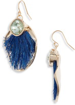 Akola Sisal & Crystal Drop Earrings