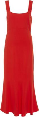 Veronica Beard Gloria Sleeveless Midi Dress