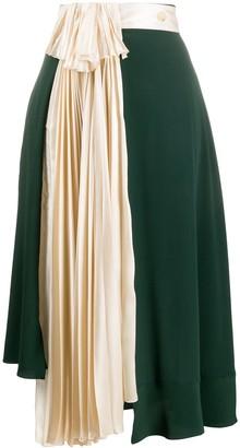 Lanvin Asymmetric Skirt
