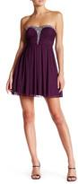 Speechless Strapless Embellished Dress (Juniors)