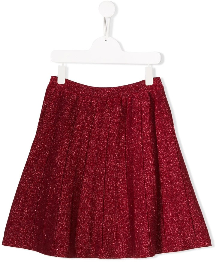 Alberta Ferretti Kids TEEN pleated skirt
