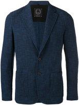 Tonello textured suit jacket