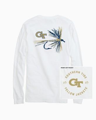 Southern Tide Georgia Tech Fly Long Sleeve T-Shirt
